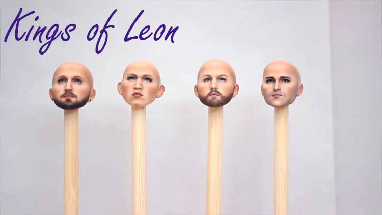 Kings of Leon album cover heads